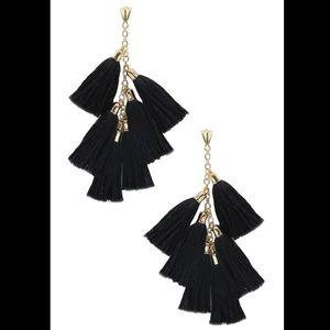 ETTIKA Gold Daydreamer Tassel Earrings